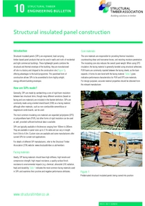 10. Structural Insulated Panel Construction
