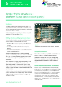 5. Timber frame structures - platform frame construction (part 3)