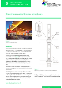 8. Glued laminated timber structures