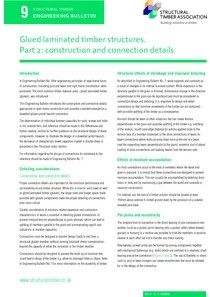 9. Glued laminated timber structures. Part 2: construction and connection details