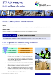 9.1 CDM Regulations for STA Members