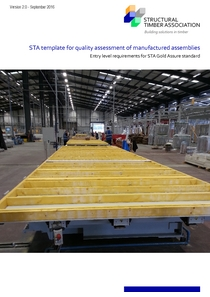 STA Template for Quality Assessment of Manufactured Assemblies