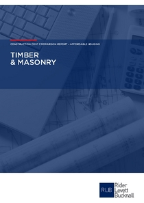 Timber and Masonry Cost Comparison Report May 2018