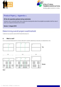 Product Paper 5 - Appendix 1 Determining overall project size/threshold