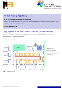 Product Paper 5 - Appendix 4 - Using separation distance tables on sites with phased handover