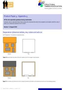 Product Paper 5 - Appendix 5 - Separation distance tables; key notes and advice