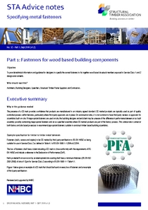 12.1 Specifying Metal Fasteners